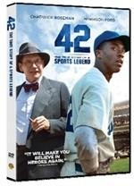 La copertina di 42 - La vera storia di una leggenda americana (dvd)