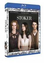 La copertina di Stoker (blu-ray)