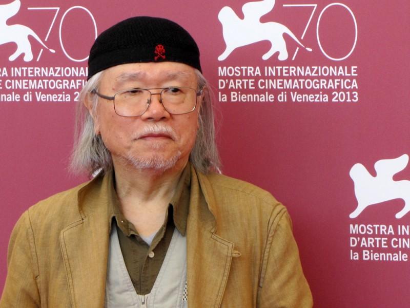 Leji Matsumoto alla Mostra del Cinema di Venezia, nel 2013 per presentare Capitan Harlock in 3D