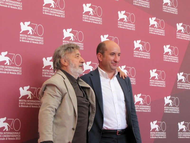 Mostra di Venezia 2013 - Antonio Albanese e Gianni Amelio presentano L'intrepido