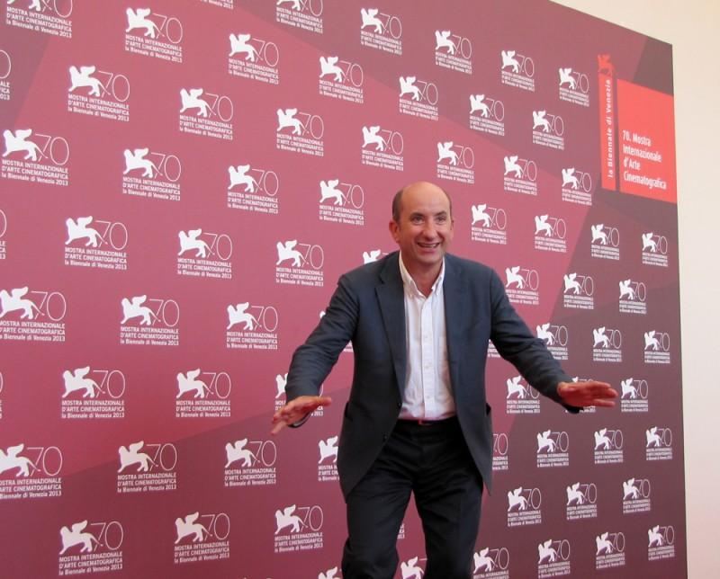 Mostra di Venezia 2013 - Antonio Albanese presenta L'intrepido