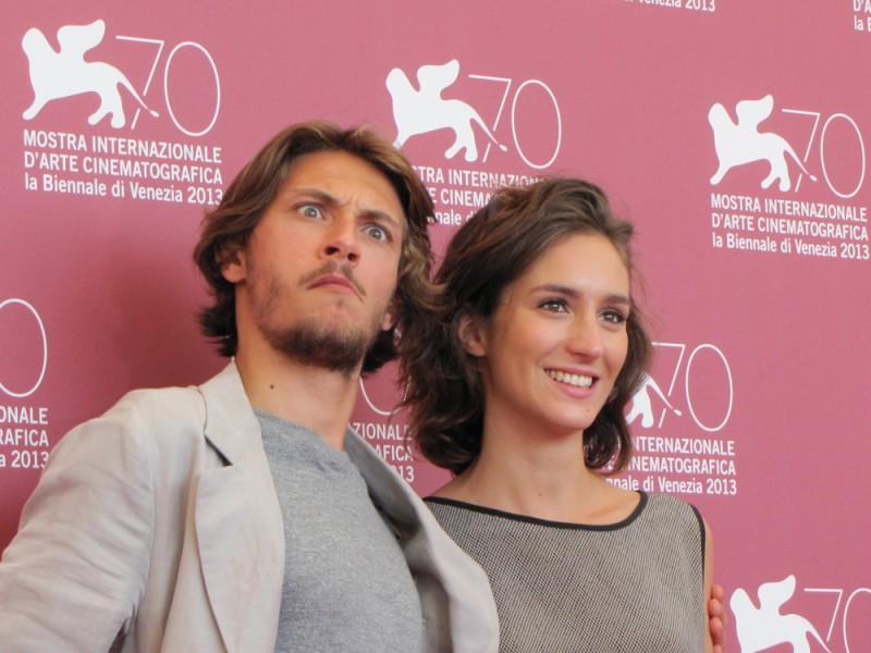 Mostra di Venezia 2013 - Livia Rossi e Gabriele Rendina presentano L'intrepido, diretto da Gianni Amelio