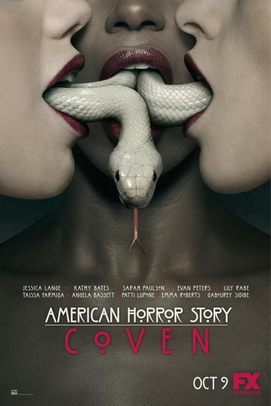 American Horror Story: Coven. Un primo poster della terza stagione della serie