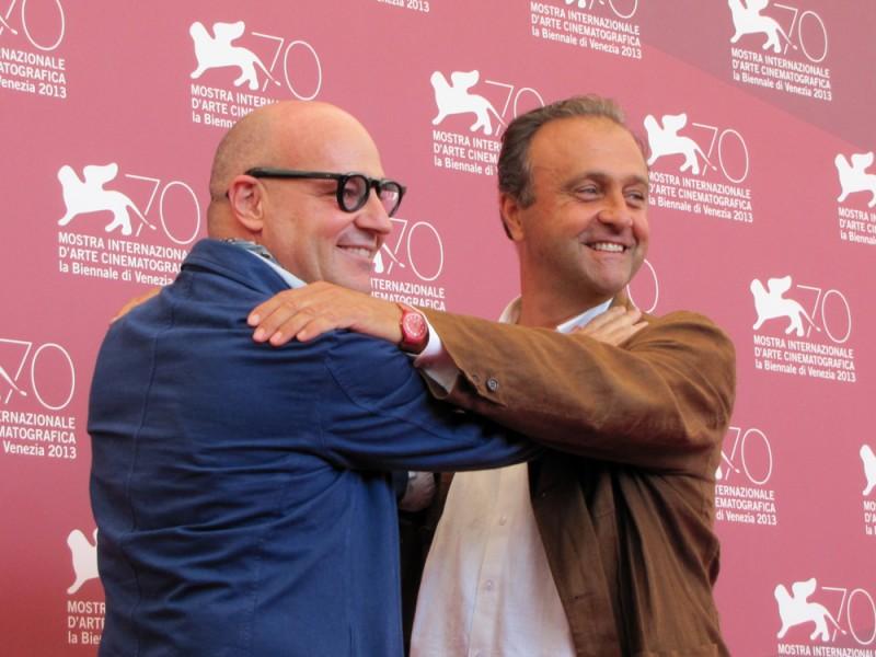 Il regista Gianfranco Rosi presenta Sacro GRA alla Mostra di Venezia 2013