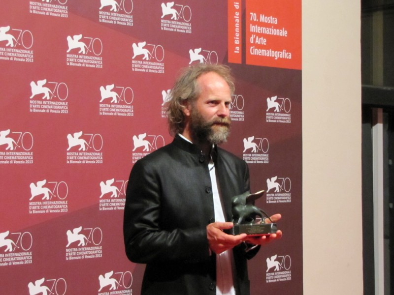 The Police Officer's Wife: il regista Philip Gröning con il Premio speciale della giuria vinto a Venezia 2013