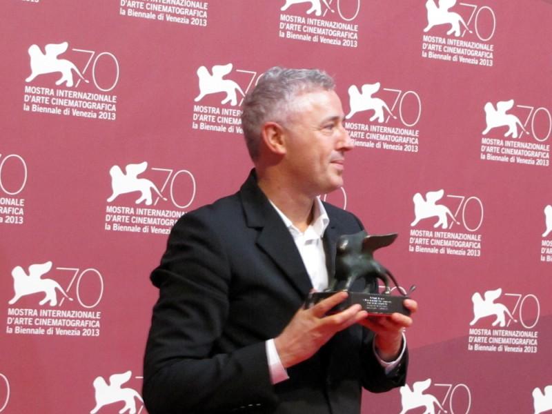 Venezia 2013 - Robin Campillo con il premio Orizzonti per Eastern Boys
