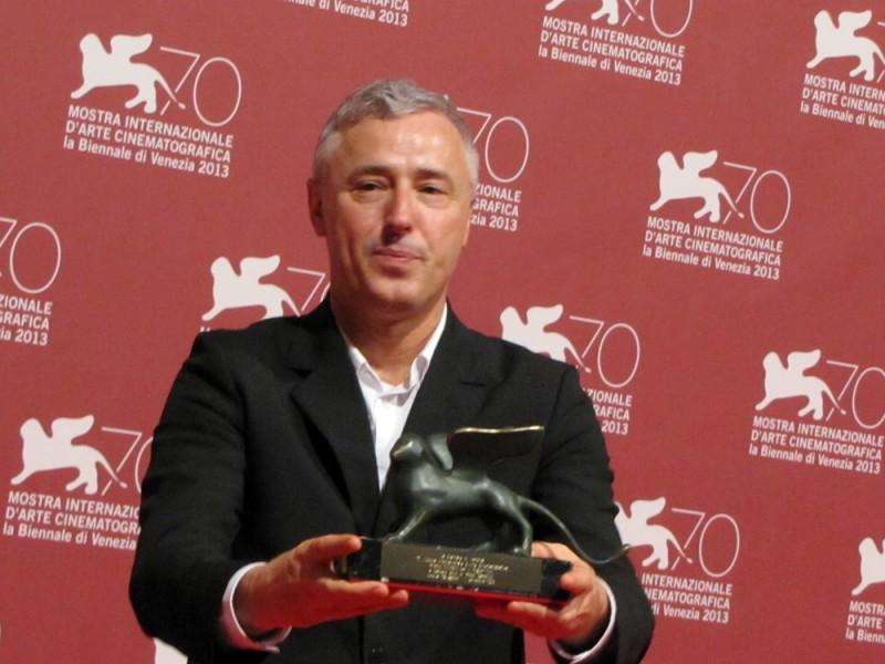 Venezia 2013 - Robin Campillo con il premio Orizzonti vinto per il film Eastern Boys