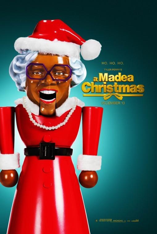 A Madea Christmas: la locandina del film