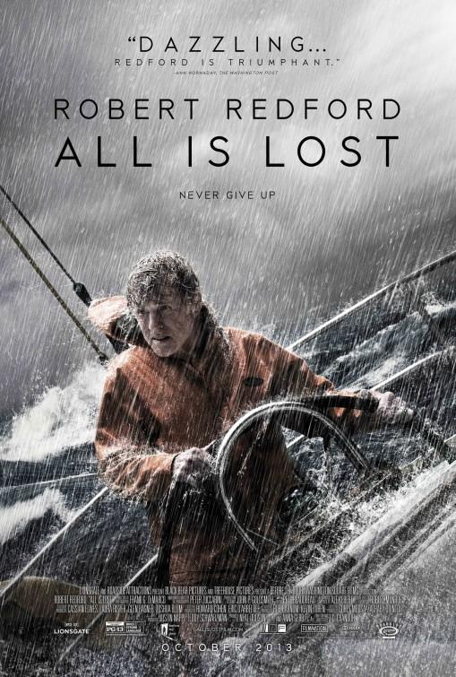 All Is Lost: primo poster del film