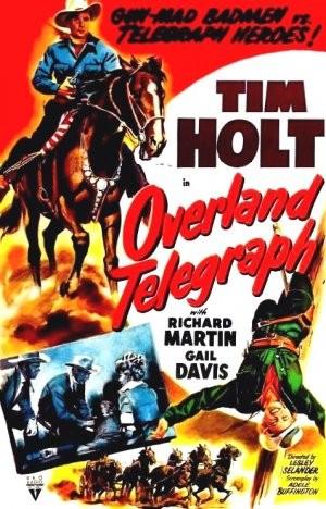 Avamposto telegrafico: la locandina del film