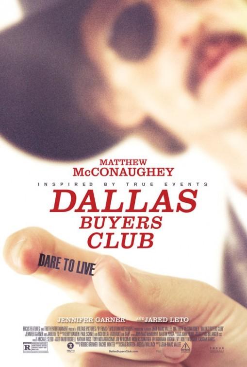 Dallas Buyers Club: primo poster del film