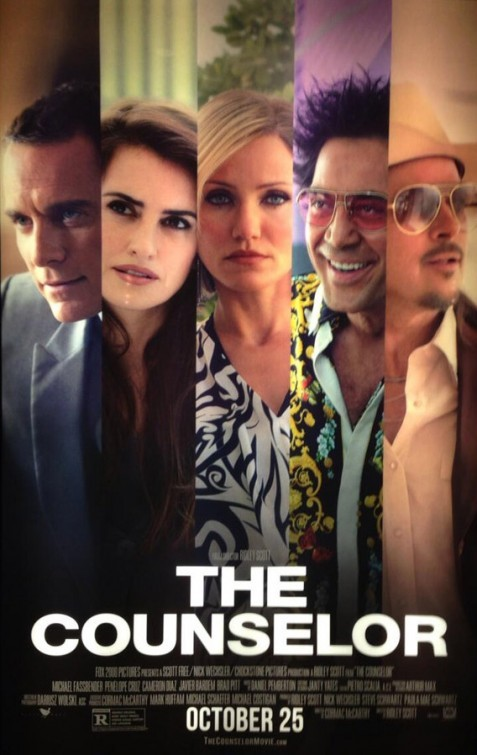 The Counselor: primo poster del film