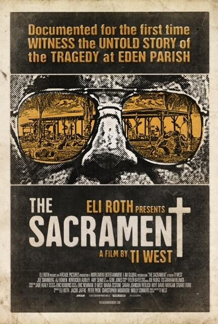 The Sacrament: la locandina del film