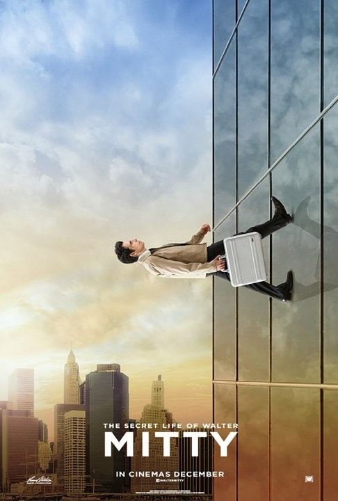 The Secret Life of Walter Mitty: nuovo poster USA 4
