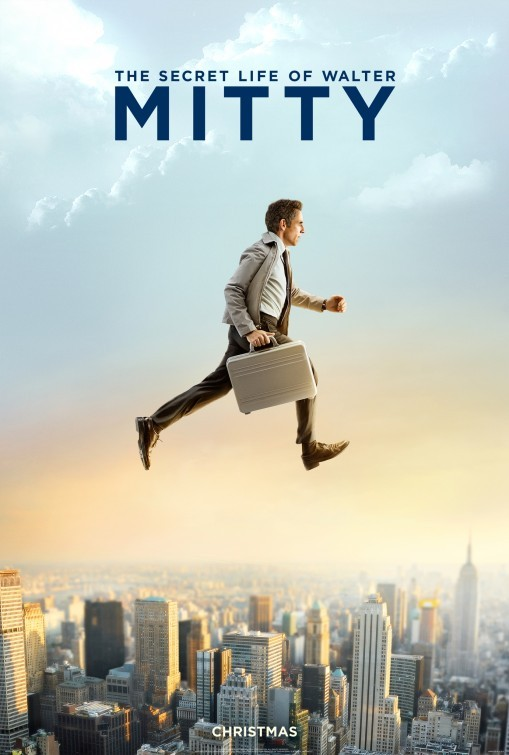 The Secret Life of Walter Mitty: primo poster USA