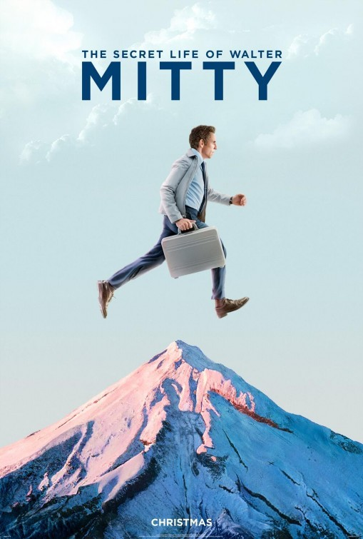 The Secret Life of Walter Mitty: secondo poster USA