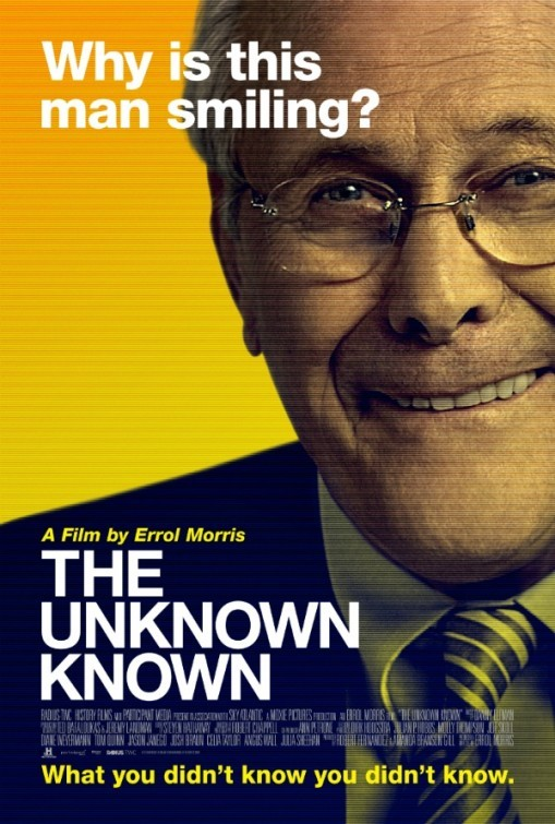 The Unknown Known: la locandina del film