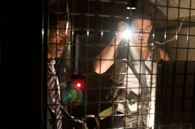 Channing Tatum e Denzel Washington in Sotto Assedio - White House Down