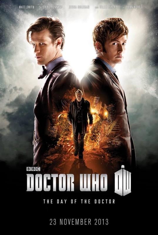 Doctor Who: un poster per l'episodio speciale del cinquantenario