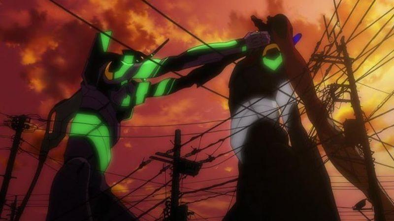 Evangelion: 3.0 You Can (Not) Redo: un'immagine del film animato