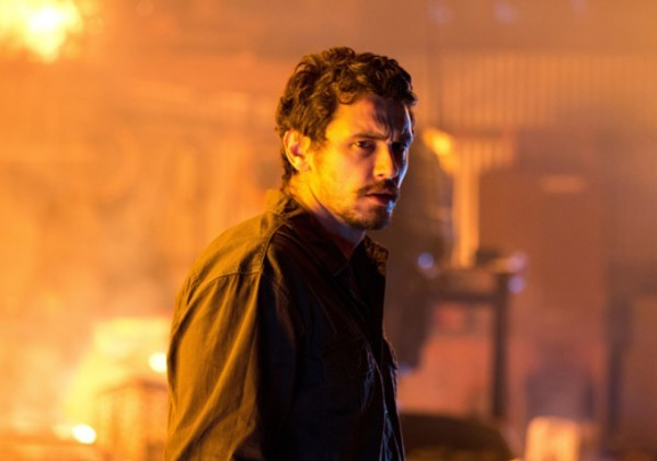 Homefront: James Franco corrucciato in una scena del film
