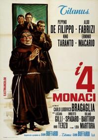 I quattro monaci: la locandina del film