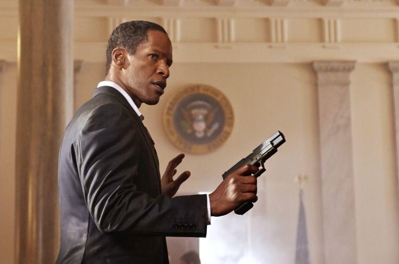 Jamie Foxx in Sotto Assedio - White House Down nei panni del Presidente Usa