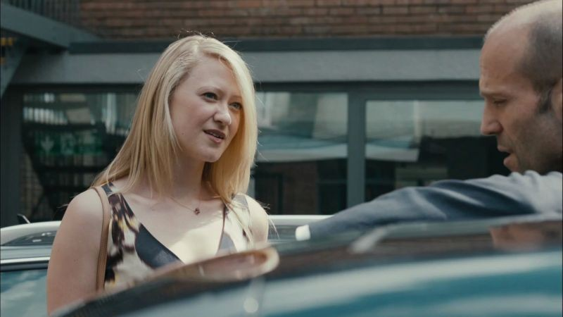 Redemption - Identità nascoste: Siobhan Hewlett e Jason Statham in una scena