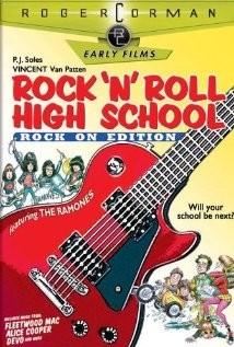 Rock'n Roll High School: la locandina del film