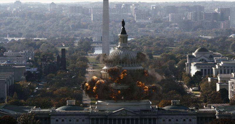 Sotto Assedio - White House Down: una drammatica scena tratta dal film