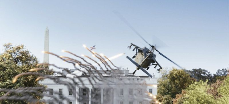 Sotto Assedio - White House Down: una scena del film d'azione