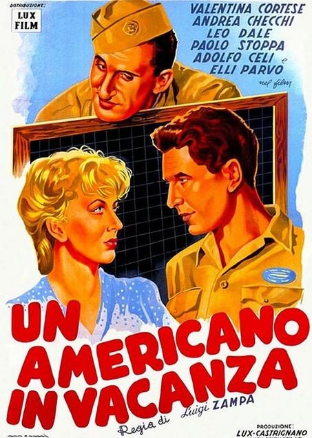 Un americano in vacanza: la locandina del film