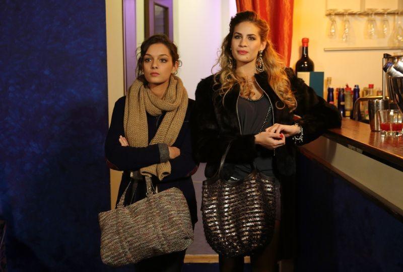 Universitari - Molto più che amici: Sara Cardinaletti e Maria Chiara Centorami in una scena