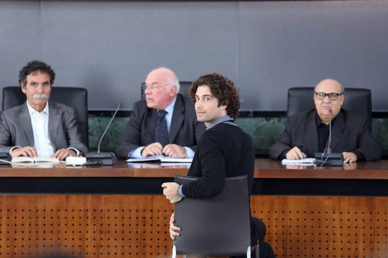 Universitari - Molto più che amici: Simone Riccioni nei panni di Carlo in una scena