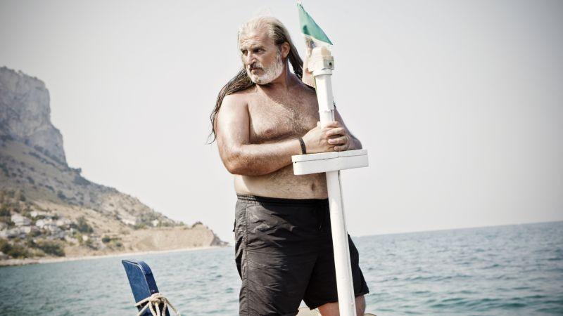 Via Castellana Bandiera: Renato Malfatti in una scena del film