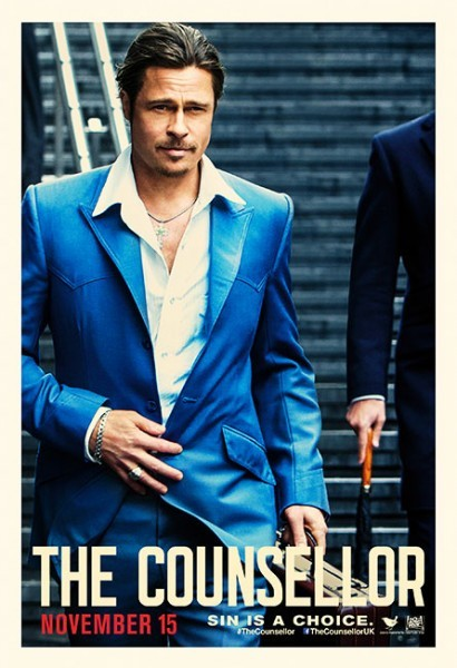 The Counselor: il character poster di Brad Pitt