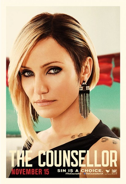 The Counselor: il character poster di Cameron Diaz