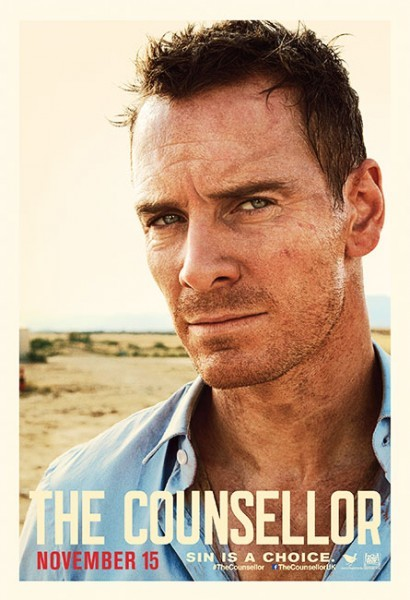 The Counselor: il character poster di Michael Fassbender