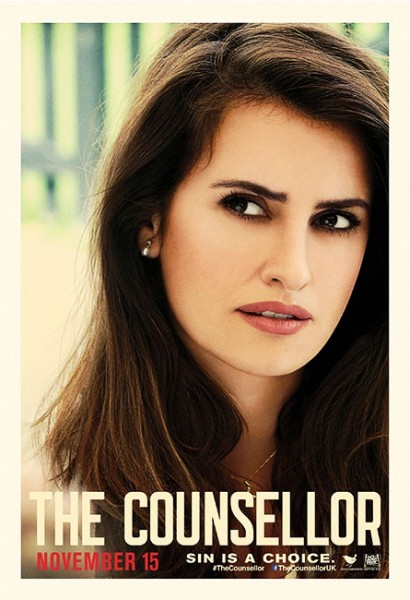 The Counselor: il character poster di Penelope Cruz