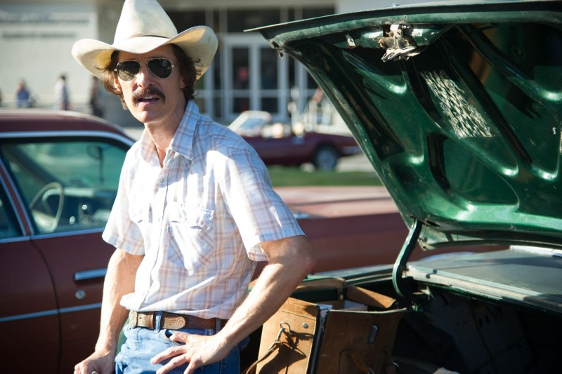 The Dallas Buyers Club: Matthew McConaughey in un scena del film