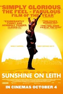 Sunshine on Leith: la locandina del film