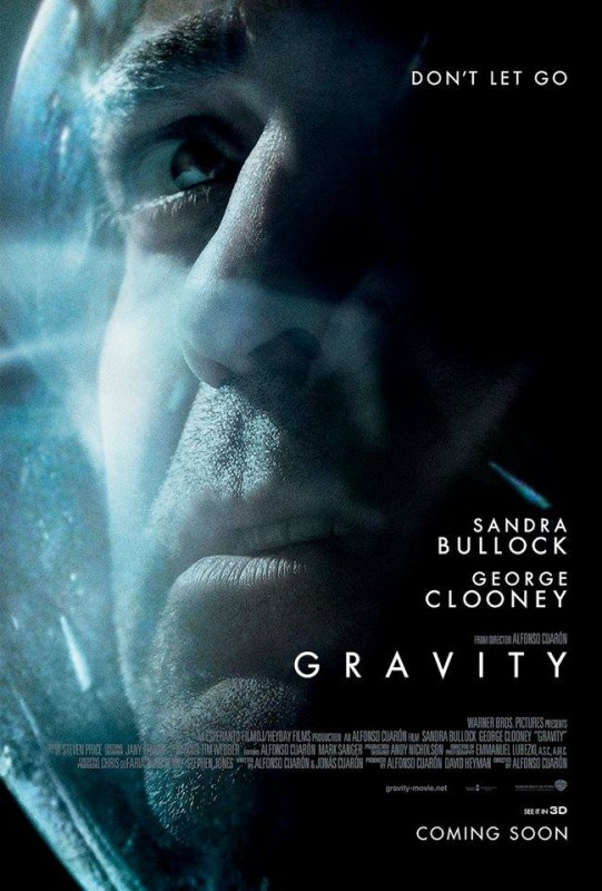 Gravity: il character poster con George Clooney