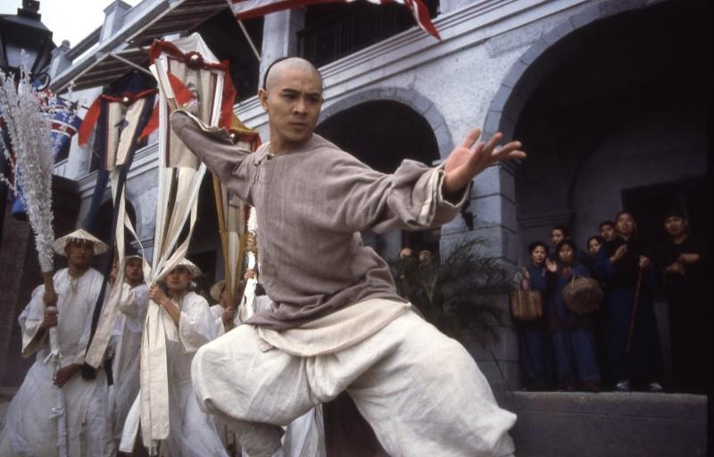 Jet Li in una scena di Once Upon a Time in China