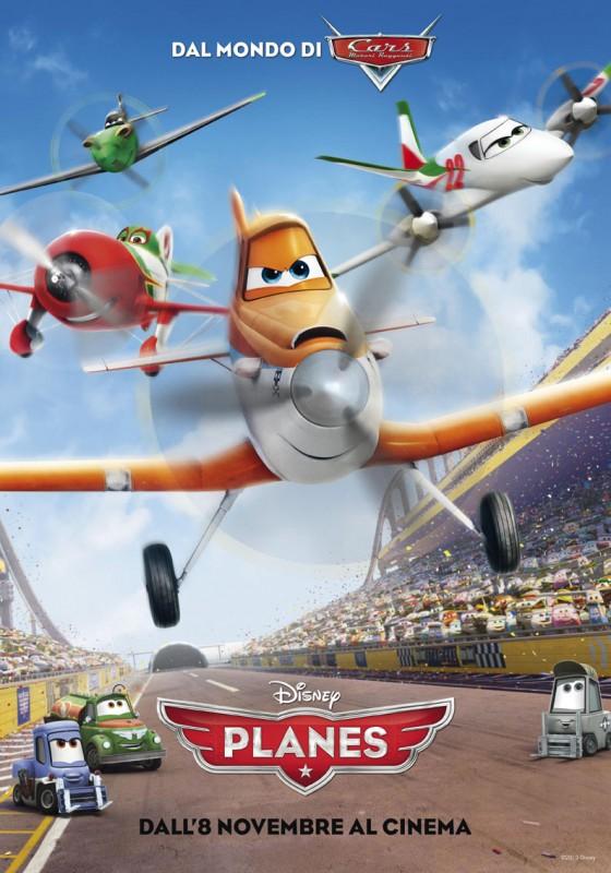 Planes: la locandina italiana
