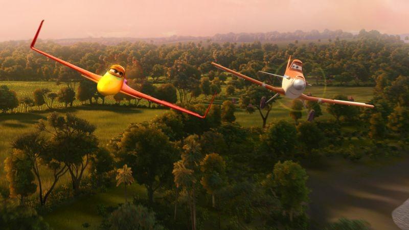 Planes: una scena aerea del film animato della Disney