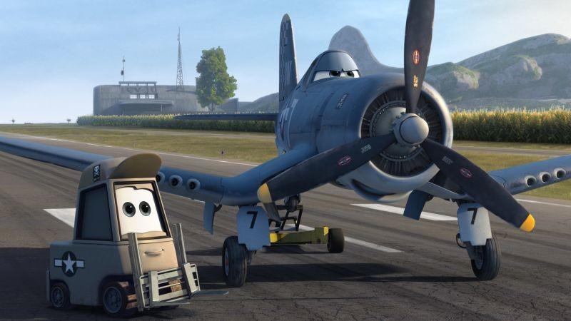 Planes: una scena del film d'animazione Disney