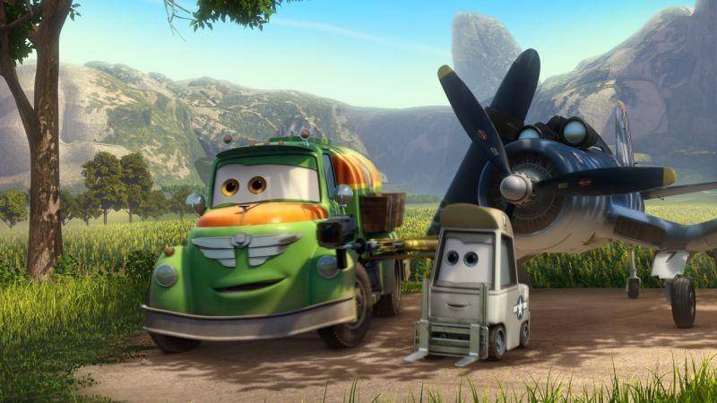 Planes: una scena tratta dal nuovo film animato della Disney