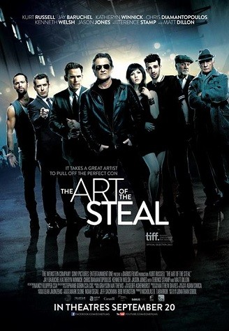 The Art of the Steal: la locandina del film