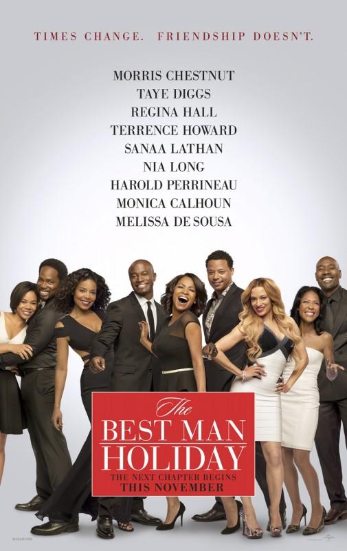 The Best Man Holiday: la locandina del film