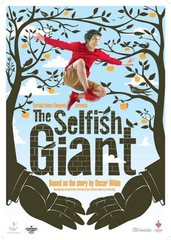 The Selfish Giant: la locandina del film